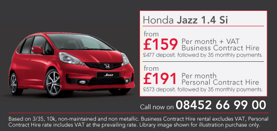 Honda Jass Si Lease Offer