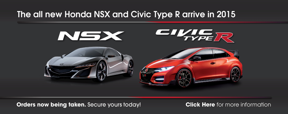 Honda Civic Type R & NSX