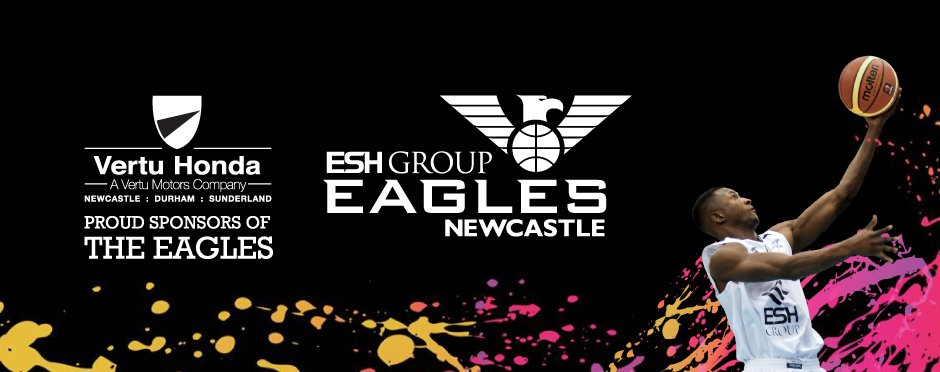 Vertu Honda Sponsors Newcastle Eagles