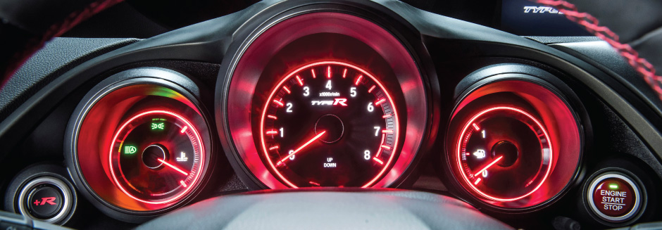 Honda Civic Type R Dashboard