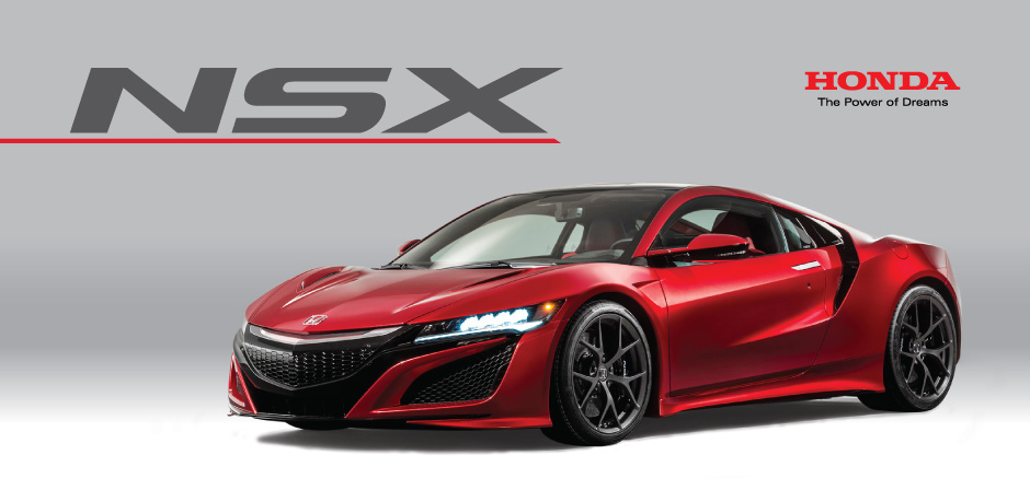 Introducing The All Honda NSX