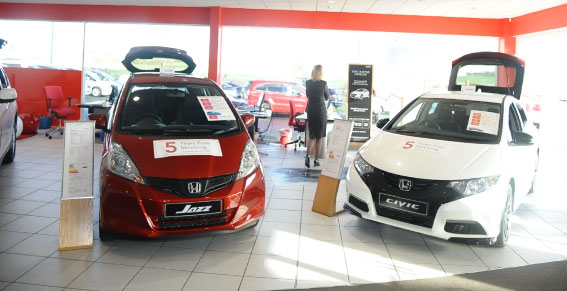 Welcome Video from Honda Grantham