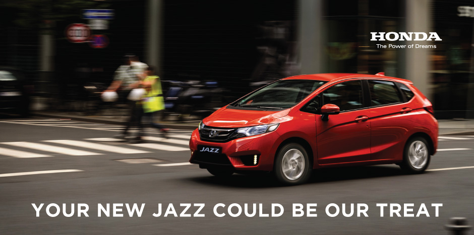The All New Honda Jazz Test Drive Prize Draw