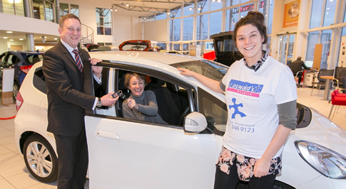 Car raffle raises more than �46,000 for children�s hospice