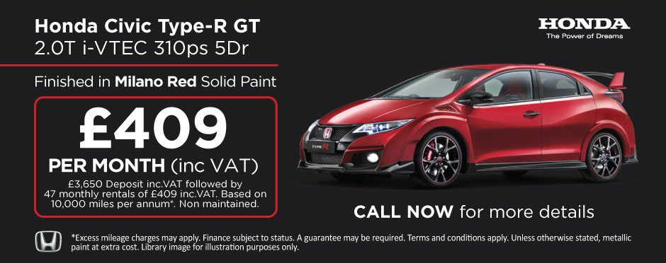 Honda Civic Type R GT 2.0T iVTEC 310ps 5Dr