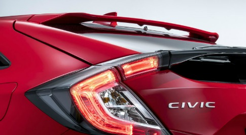 Honda to Showcase New Civic Hatchback at Paris Motor Show