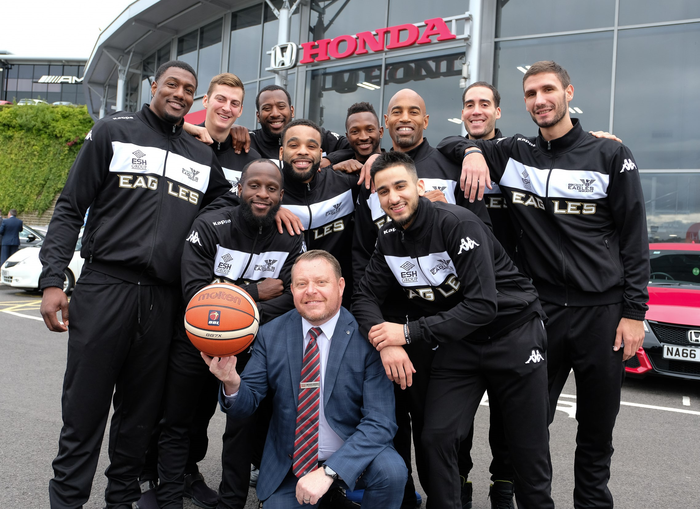 New-look Newcastle Eagles net Honda sponsorship