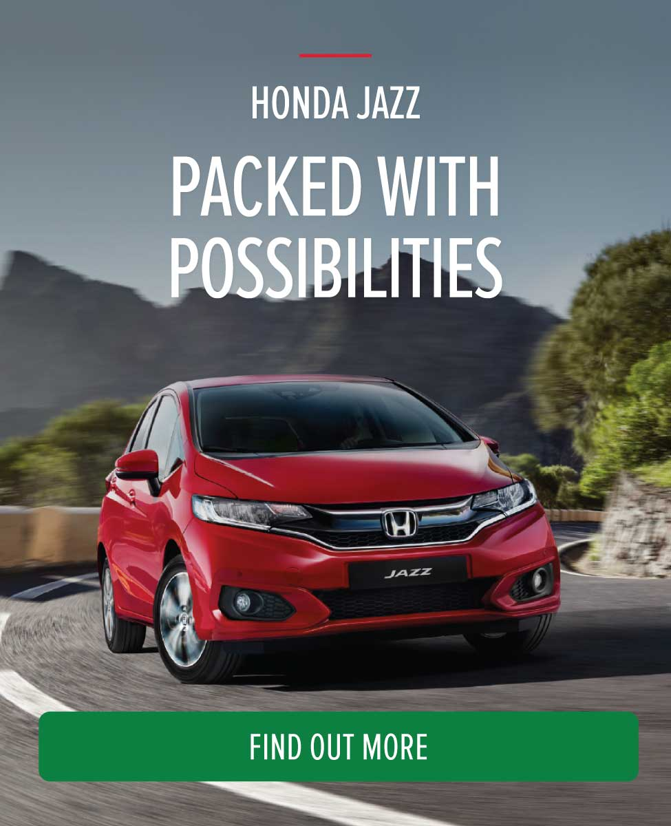 Honda Jazz Packed with Possibilities