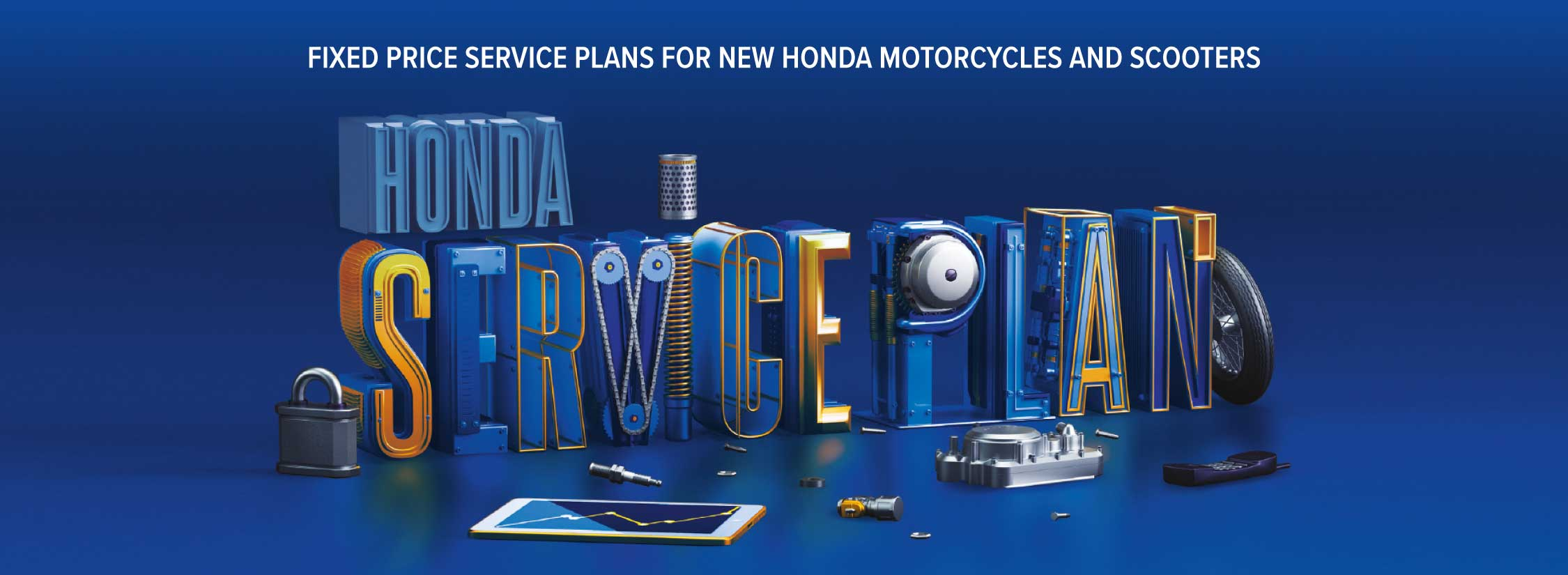 Honda Bikes Service Plan Aftersales Vertu Motorcycle Blue Book Wouldnt It Make Life Simpler If The Costs Of Maintaining Your Were Taken Care