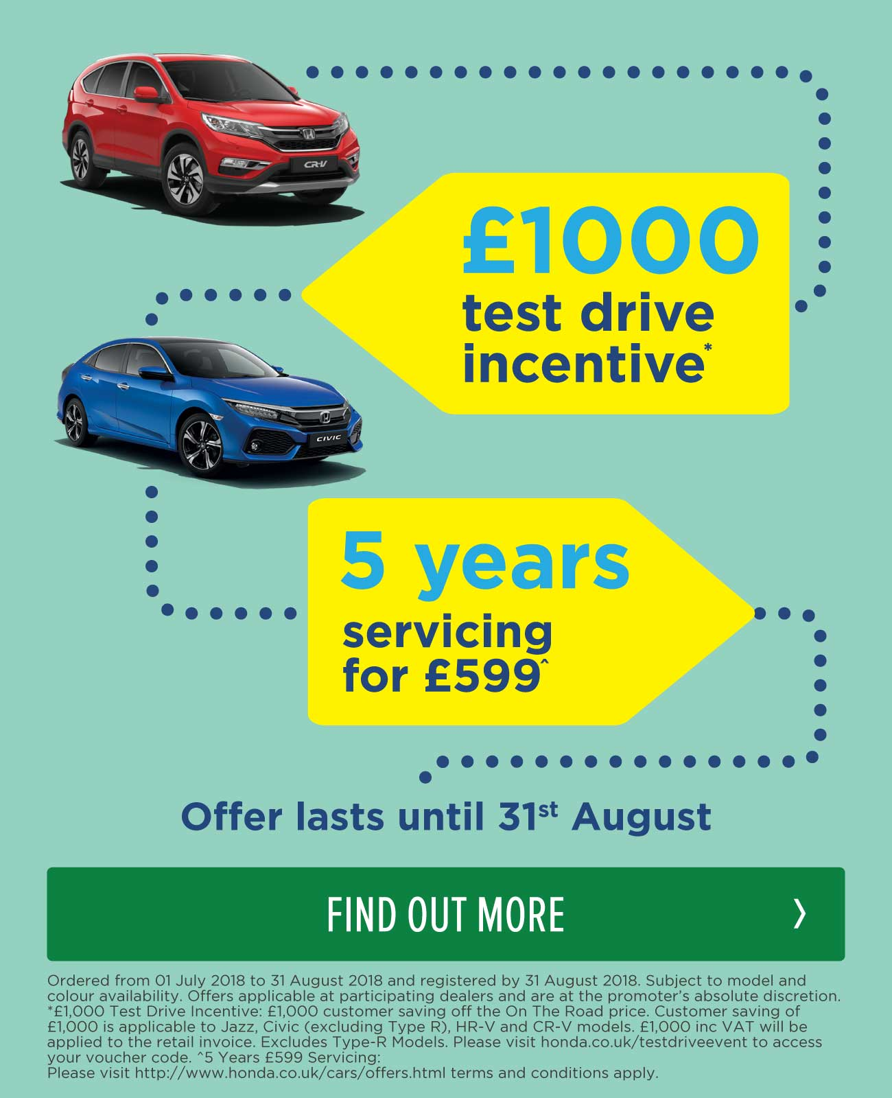Honda Summer Sale Event