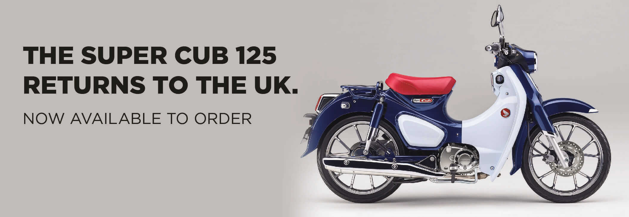 NEW HONDA SUPER CUB