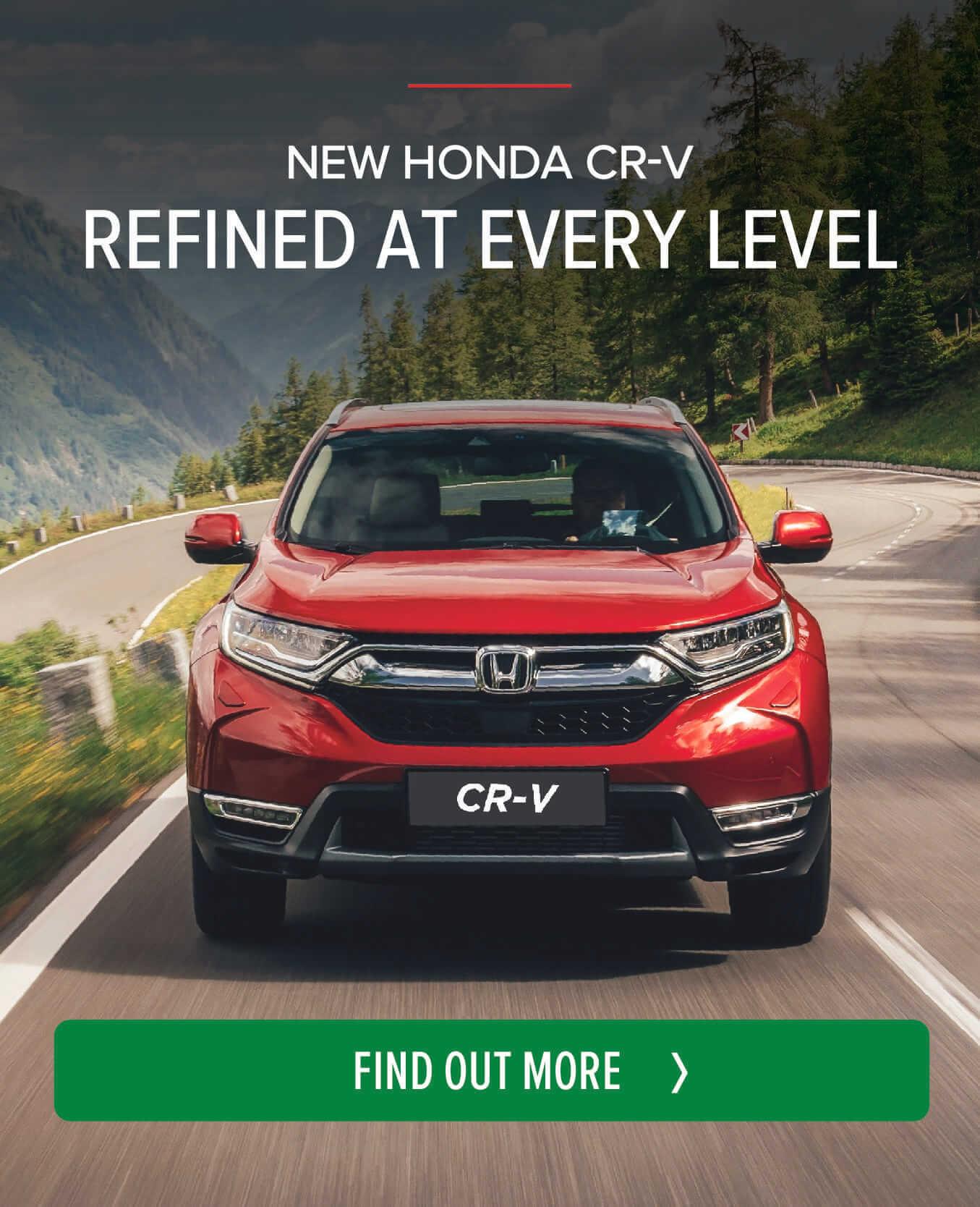 New Honda CR V BB