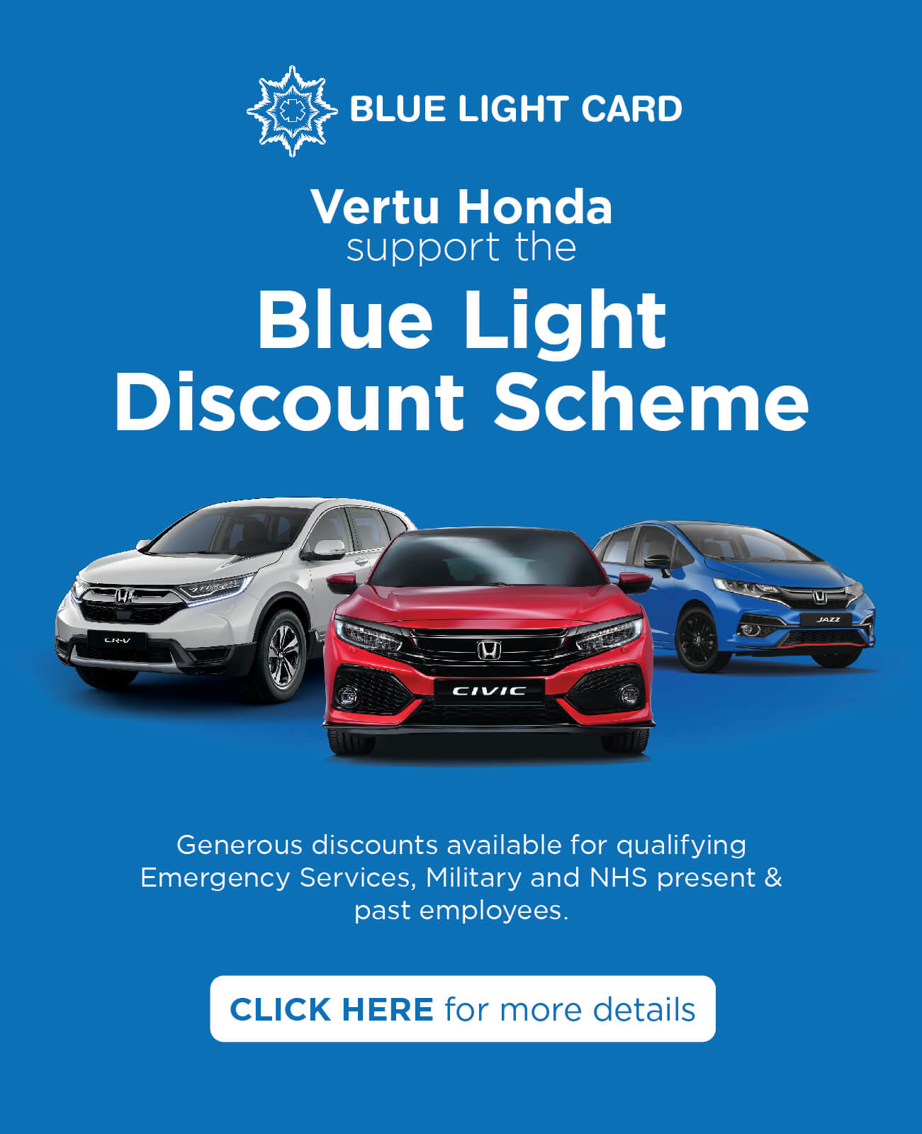 Honda Blue Light Scheme