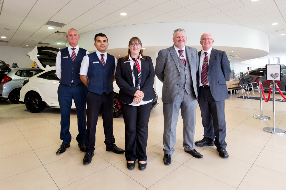 New recruits at Vertu Honda Derby