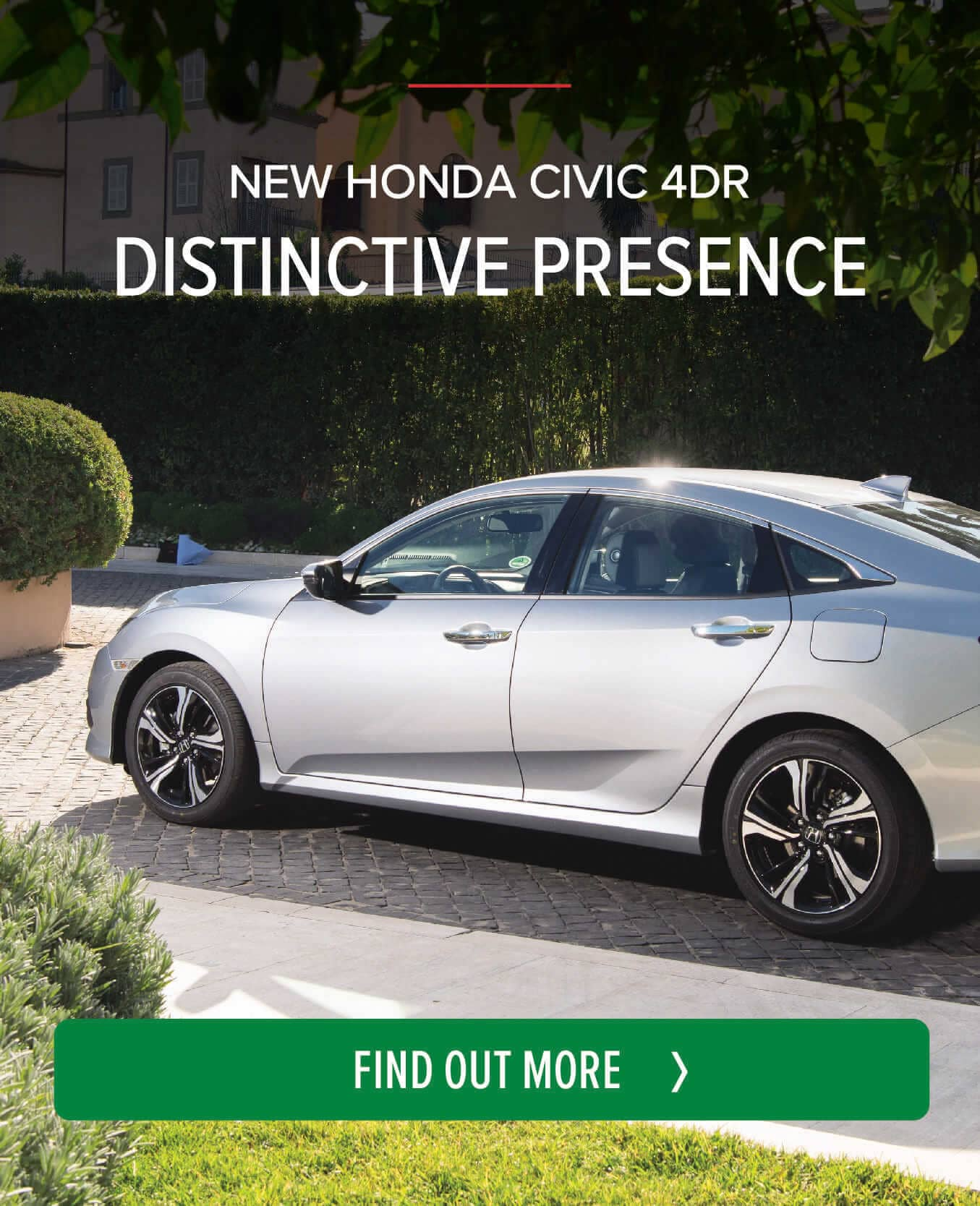 New Honda Civic 4dr BB