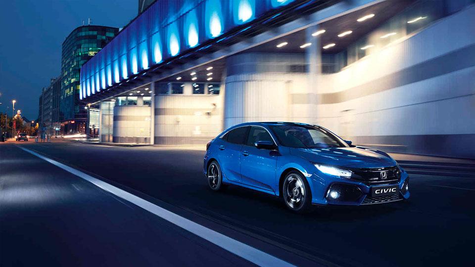 Hondas Civic Interior Space