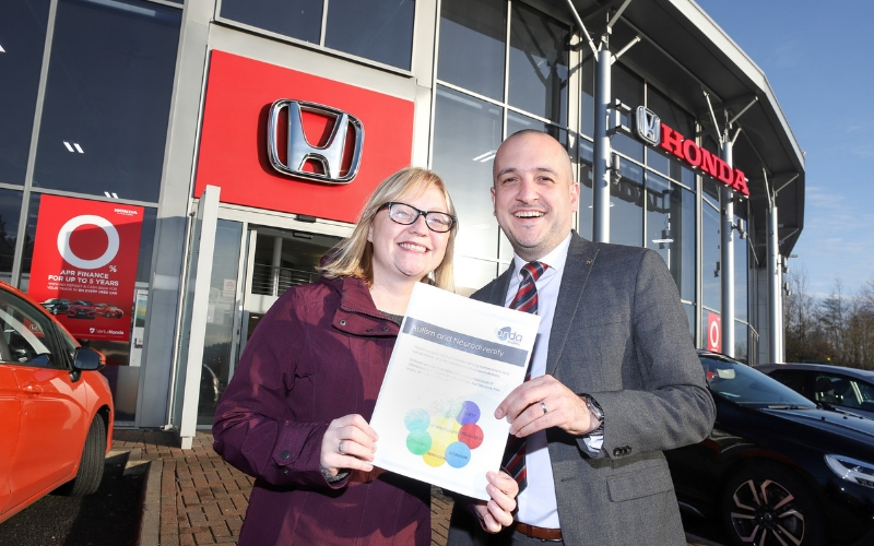 Newcastle Honda drives towards autism-friendly dealership