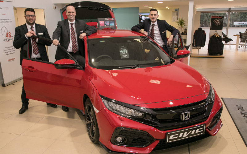 New Sales And Service Manager Boosts Team At Vertu Honda Nottingham