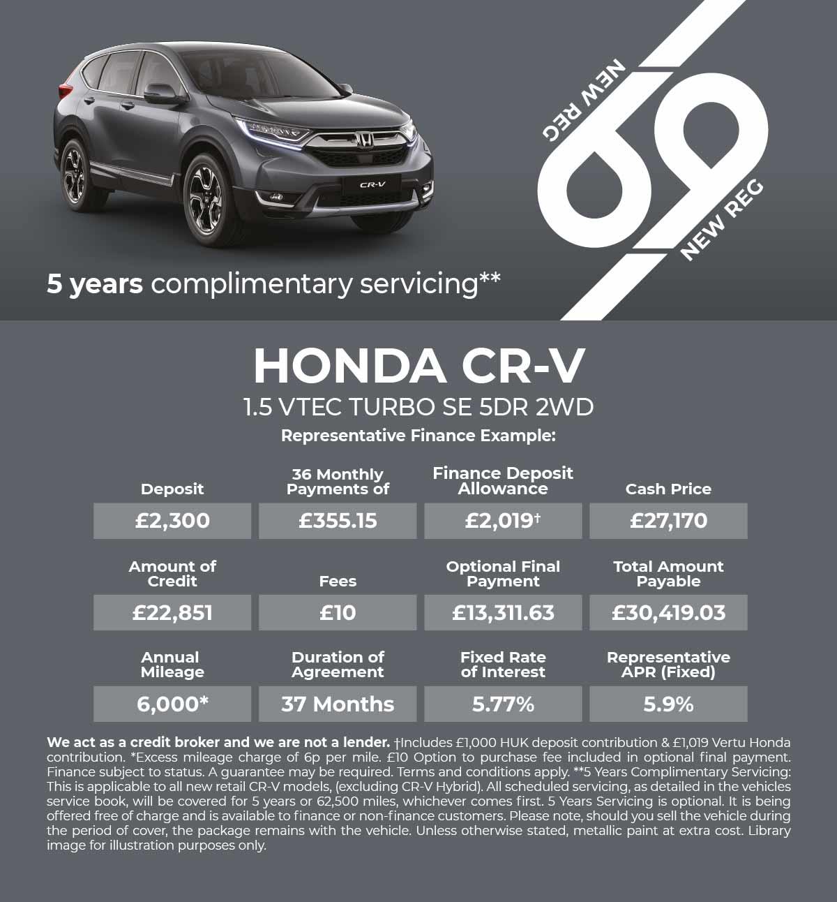 New Honda CR-V   Vertu Honda