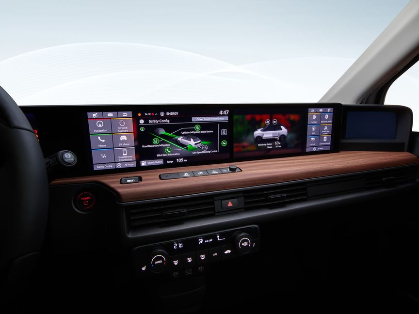 Honda e Dashboard