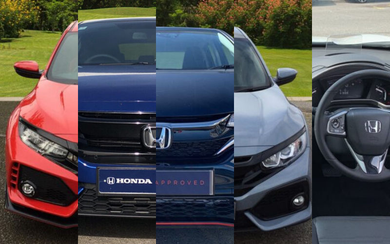 Vertu Honda's Top 5 Used Cars This Week
