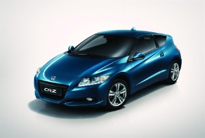 Honda CR-Z named Green Car of the Year