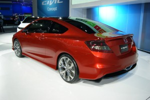 More refined driving experience in the 2012 Honda Civic, carmaker says