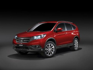 Honda CR-V named 4x4 of the Year