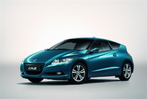 Honda CR-Z given five-star safety rating