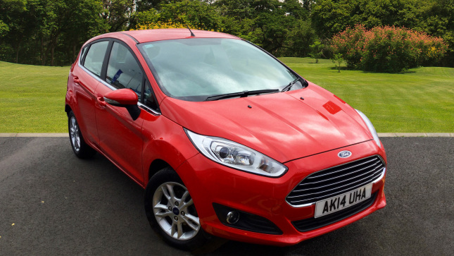 Ford Fiesta 1.6 Zetec 5Dr Powershift Petrol Hatchback