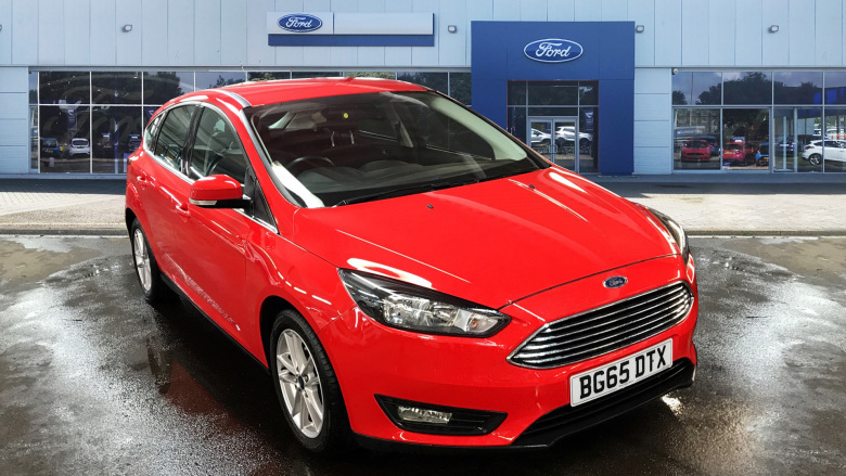 Ford Focus 1.6 125 Zetec 5Dr Powershift Petrol Hatchback