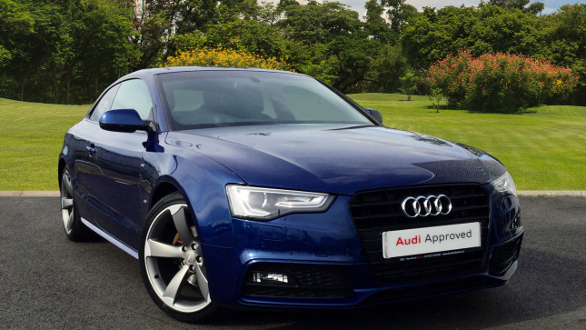 Audi A5 2.0 Tdi 177 Quattro Black Edition 2Dr [nav] Diesel Coupe