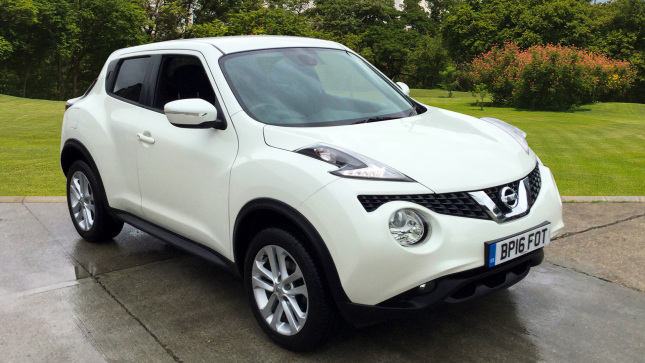 Nissan Juke 1.6 N-Connecta 5Dr Xtronic Petrol Hatchback