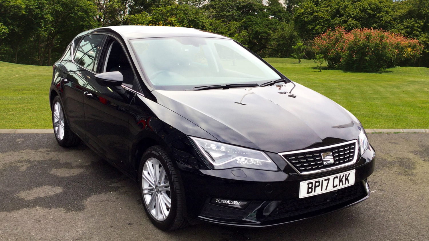 used seat leon 2 0 tdi 184 xcellence technology 5dr leather diesel hatchback for sale vertu. Black Bedroom Furniture Sets. Home Design Ideas