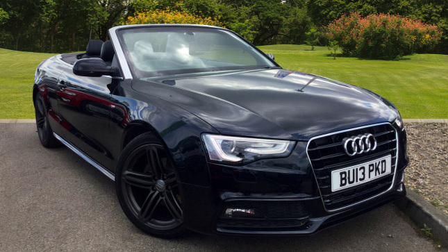 Audi A5 2.0 Tdi 177 S Line 2Dr Multitronic Diesel Convertible