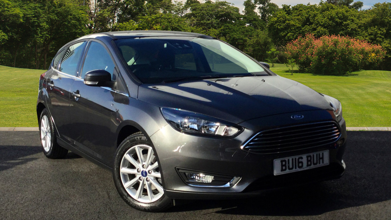 used ford focus 1 0 ecoboost 125 titanium navigation 5dr auto petrol hatchback for sale vertu. Black Bedroom Furniture Sets. Home Design Ideas
