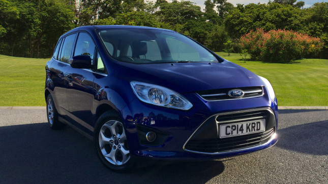 Ford Grand C-MAX 1.6 Tdci Zetec 5Dr Diesel Estate