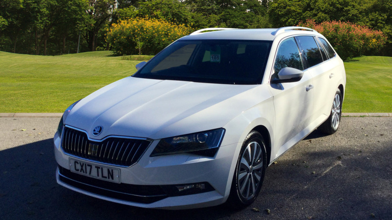 SKODA Superb 1.6 TDI CR SE L Executive GreenLine 5dr Diesel Estate