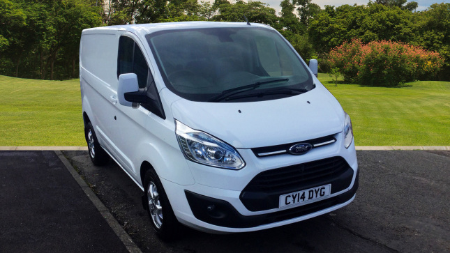 Ford Transit Custom 330 Swb Diesel Fwd 2.2 Tdci 125Ps Low Roof Limited Van