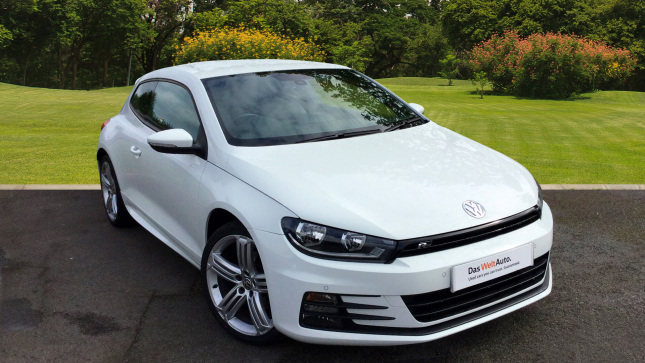 Volkswagen Scirocco 2.0 Tdi 184 Bluemotion Tech R Line 3Dr Dsg Diesel Coupe