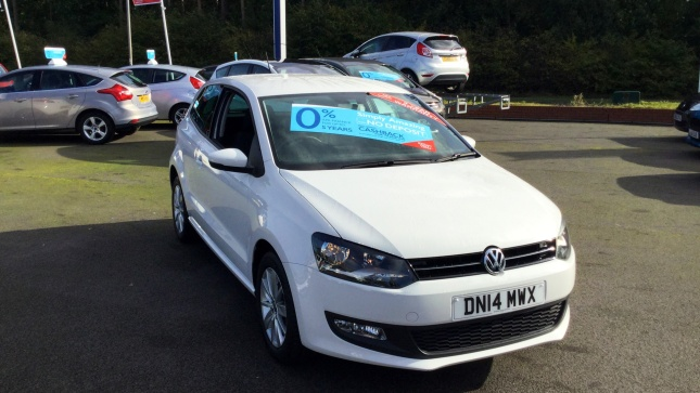 Volkswagen Polo 1.2 70 Match Edition 3Dr Petrol Hatchback