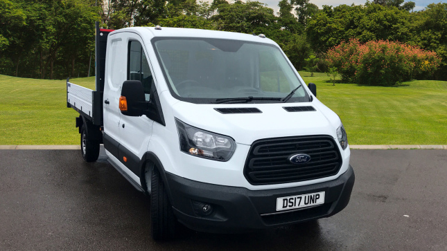 Ford Transit 350 L3 Diesel Rwd 2.0 Tdci 170Ps Double Cab Chassis