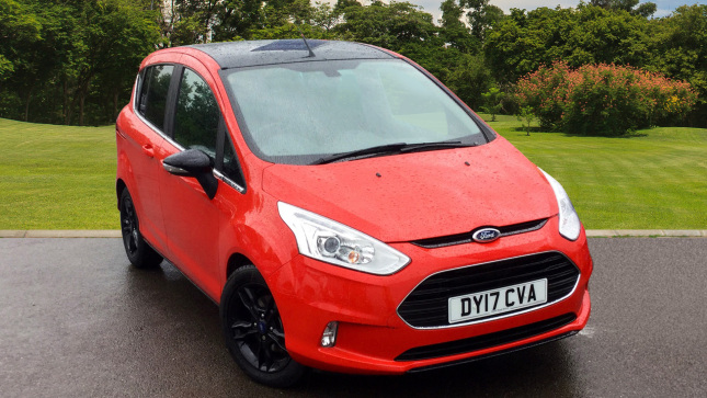 Ford B-MAX 1.0 Ecoboost Zetec Red Edition 5Dr Petrol Hatchback