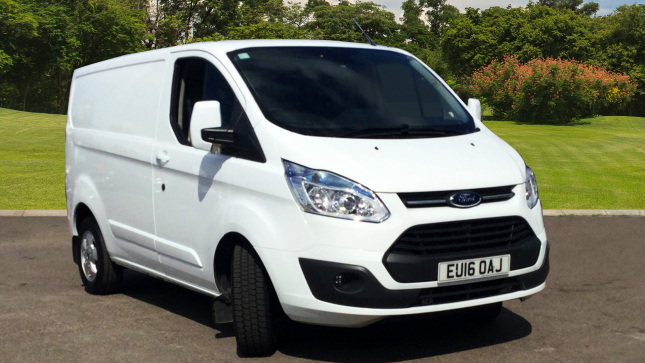 Ford Transit Custom 290 Swb Diesel Fwd 2.2 Tdci 125Ps Low Roof Limited Van