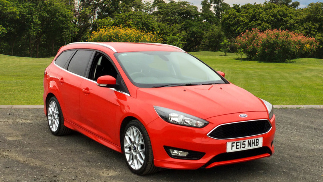 Ford Focus 1.5 Ecoboost Zetec S 5Dr Petrol Estate