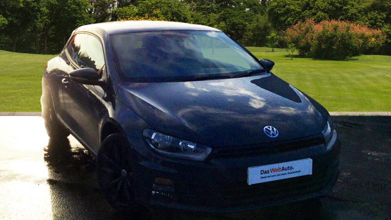 Volkswagen Scirocco 2.0 Tdi Bluemotion Tech Gt Black Edition 3Dr Dsg Diesel Coupe