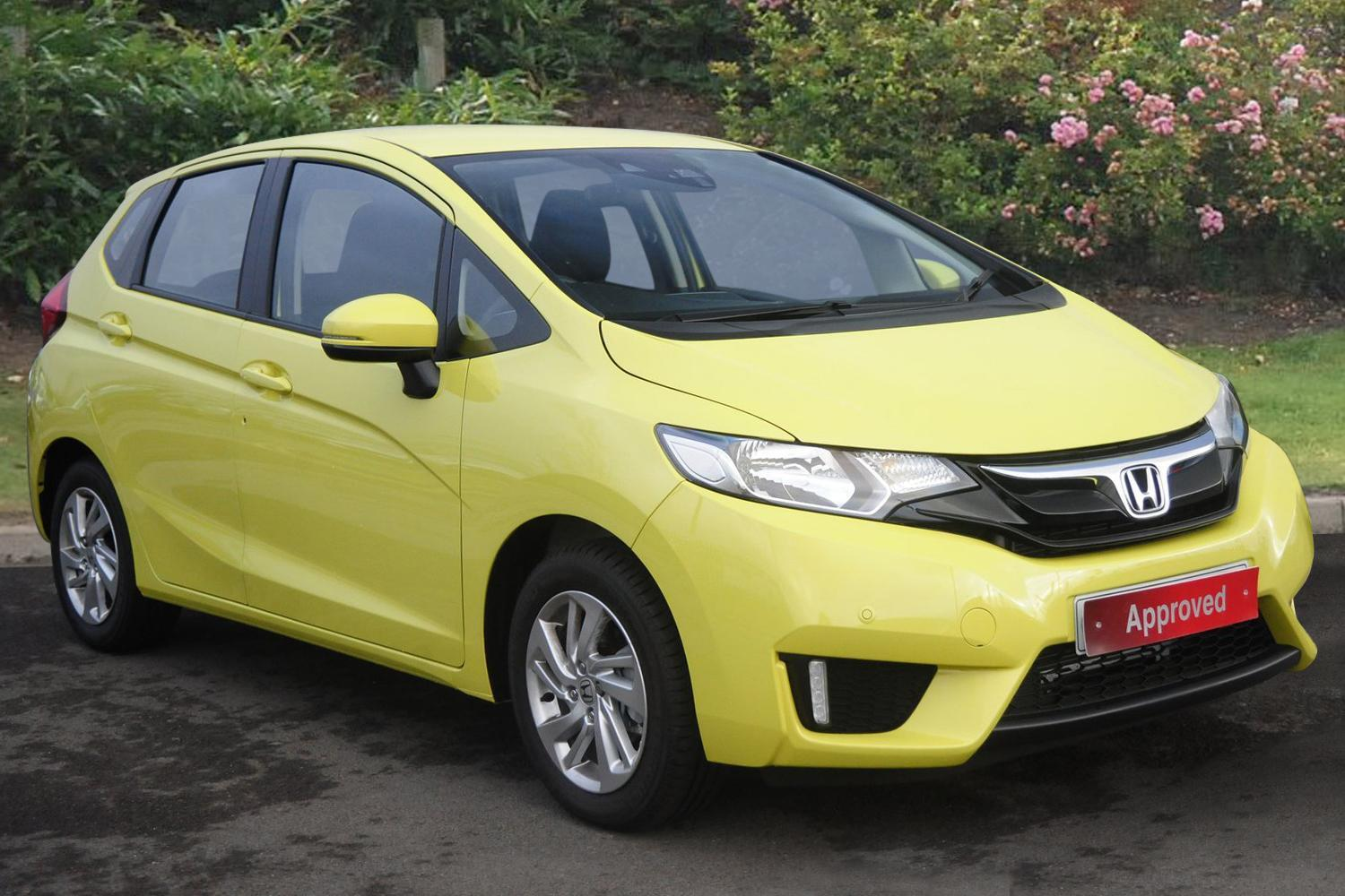 Used Yellow Manual Honda Jazz For Sale