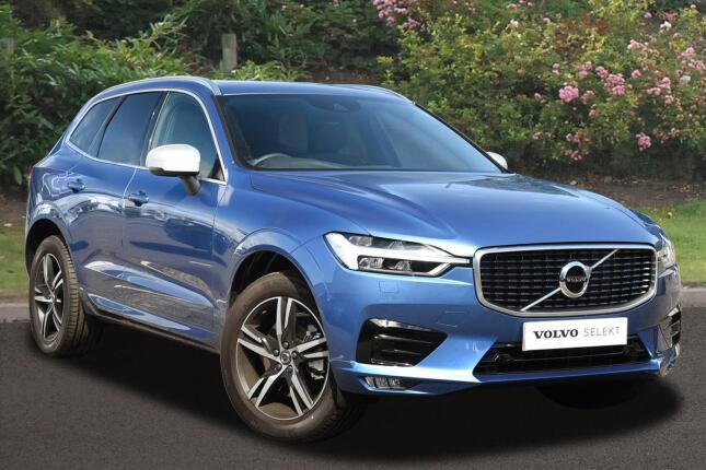 Volvo Xc60 2.0 D4 R Design 5Dr Awd Geartronic Diesel Estate