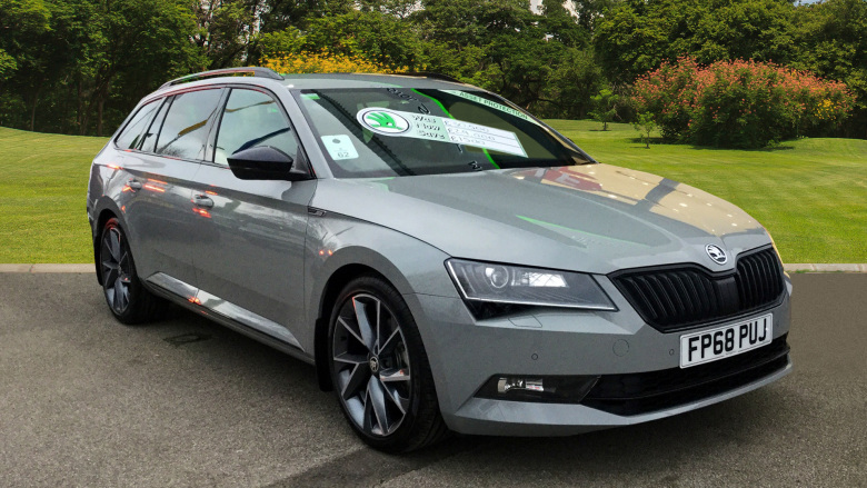 SKODA Superb 2.0 TDI CR Sport Line Plus 5dr Diesel Estate
