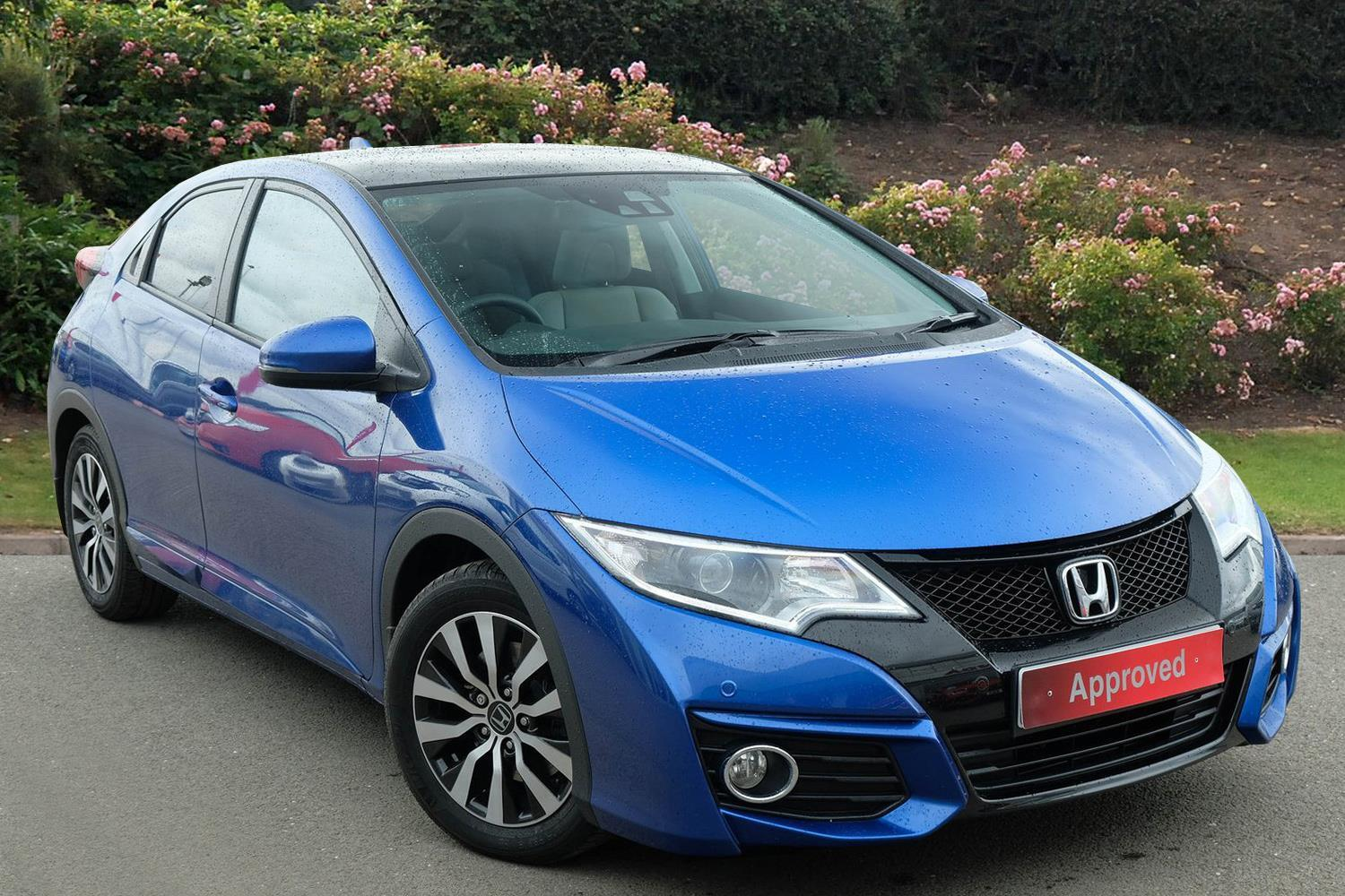used honda civic 1 6 i dtec sr 5dr diesel hatchback for. Black Bedroom Furniture Sets. Home Design Ideas